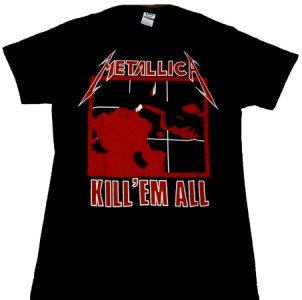 METALLICA「KILL 'EM ALL」Tシャツ<img class='new_mark_img2' src='//img.shop-pro.jp/img/new/icons52.gif' style='border:none;display:inline;margin:0px;padding:0px;width:auto;' />