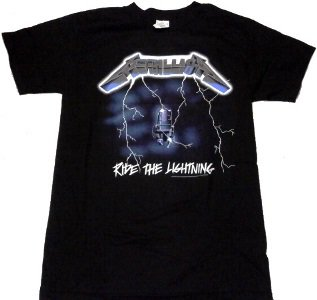 METALLICA「RIDE THE LIGHTNING」Tシャツ<img class='new_mark_img2' src='//img.shop-pro.jp/img/new/icons52.gif' style='border:none;display:inline;margin:0px;padding:0px;width:auto;' />