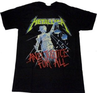 METALLICA「AND JUSTICE FOR ALL」Tシャツ<img class='new_mark_img2' src='//img.shop-pro.jp/img/new/icons52.gif' style='border:none;display:inline;margin:0px;padding:0px;width:auto;' />