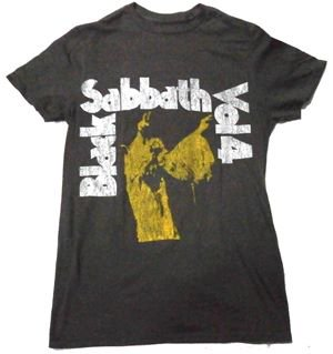 BLACK SABBATH「VOL.4-VINTAGE」Tシャツ<img class='new_mark_img2' src='//img.shop-pro.jp/img/new/icons52.gif' style='border:none;display:inline;margin:0px;padding:0px;width:auto;' />