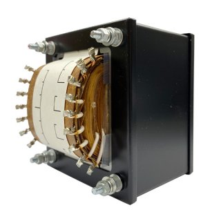 真空管用 280V-250V-0-250V-280V 220mA/5V-6.3V 3A/2.5V-6.3V 2.5A/2.5V-6.3V 2.5A/6.3V 4A [P-220N]