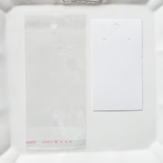 OPP袋&ディスプレイ用紙セット(各10枚入り)