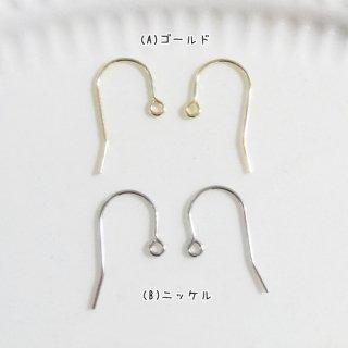 ★国内メッキ★ピアス金具(2ペア4個セット)