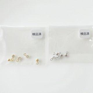 ラインストーンチャーム・2.5mm(各10個)