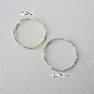 波型メタルリングパーツ・30mm(各2個)