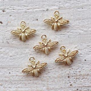 小さな蜂のチャーム(5個)