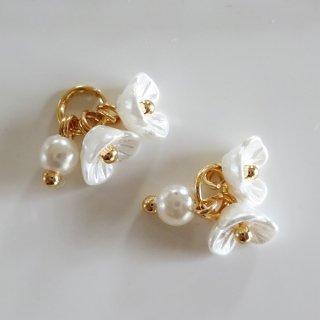 お花のモチーフチャーム(2個)