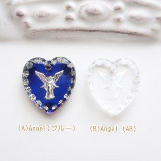 ☆大人気☆高品質☆ガラス製ヴィンテージペンダントトップ(AngelL/1個)