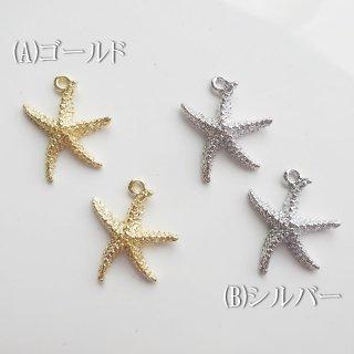 [0493]高品質ヒトデのチャーム(各1個)