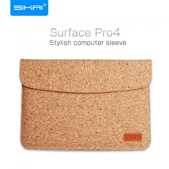 サーフェイス プロ4 ケース レザー ポーチ カバン型 軽量/薄 Surface Pro4 Microsoft Surface対応ケース PRO4-SK-Y113-T605…