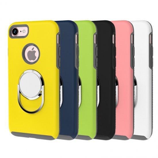 アイフォン7 ケース 耐衝撃 フルカバー スタンド シンプル スリム iPhone 7 ハードカバーip7-947-wsd-q610…