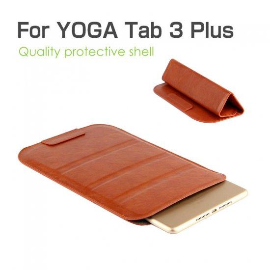 ヨガタブ3プラス ケース バッグ型 ポーチ型 ホルスター型 スリム YOGA Tab 3 Plus レザーケースtab3-plus-7k-q702…