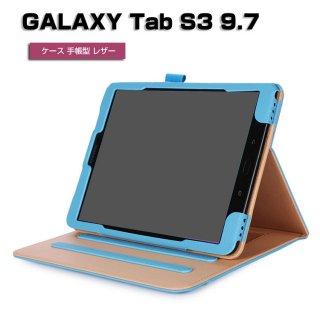 ギャラクシータブ S3 9.7 ケース 手帳 レザー オシャレ ギ Samsung GALAXY Tab S3 9.7 おすすめ おしゃれ タブレットケース tabs397-72-l70425