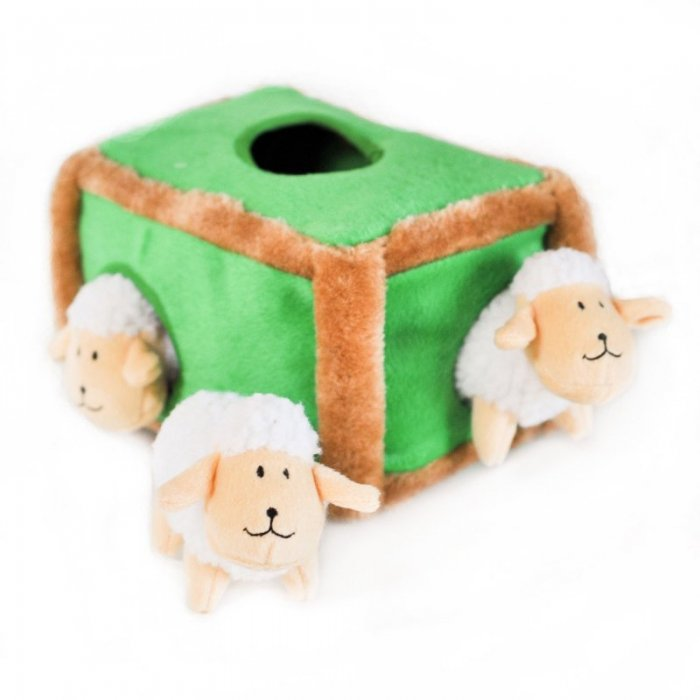 並行輸入品 Zippy Paws 羊のかくれんぼ