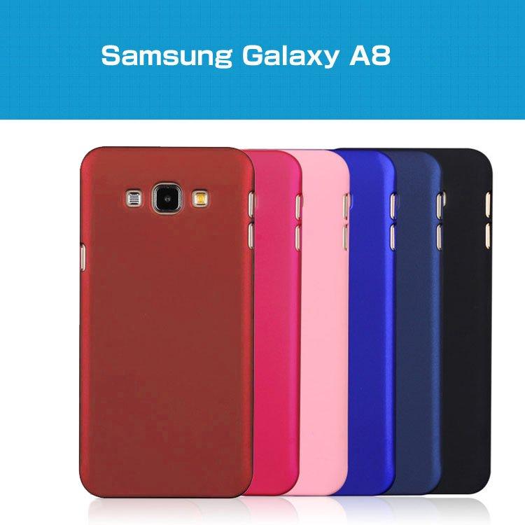 Samsung Galaxy A8 ハードケース 背面カバー シンプルでスリム ギャラクシーA8 ハードケースgalaxya8-04-l51209 【送料無…