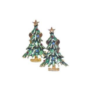 アイゼンバーグ・小さなクリスマスツリーのイヤリング