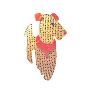 リアスタン・レトロモダンな可愛い犬のブローチ