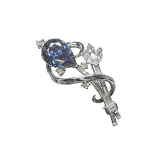 トリファリ・青いインドの宝石のブローチ(特許)