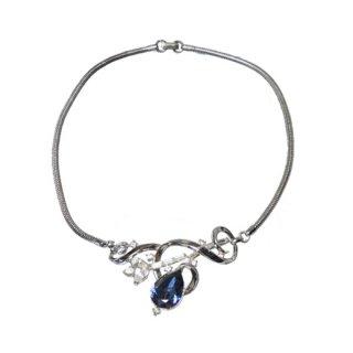トリファリ・青いインドの宝石ネックレス(特許)