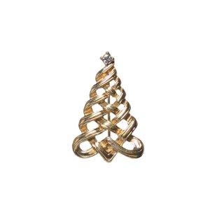 エイボン・小さなクリスマスツリーのブローチ