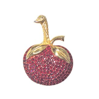 ケネスジェイレーン・不思議な林檎鳥のブローチ