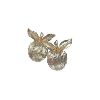 サラコヴェントリー・小さなゴールデンチェリーのイヤリング