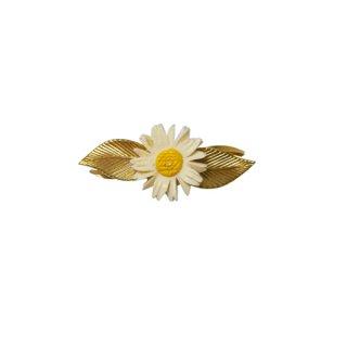 ウェルズ・小さなお花とリーフのブローチ