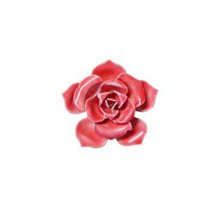オリジナルバイロバート・ローズピンクの小さなお花のブローチ