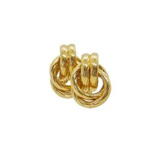 ネイピア・オーセンティックなゴールドフープのイヤリング