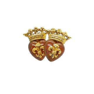 バトラー&ウィルソン・王冠とハートのイヤリング