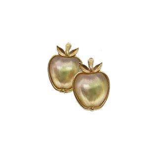 サラコヴェントリー・煌くデリシャスな林檎のイヤリング