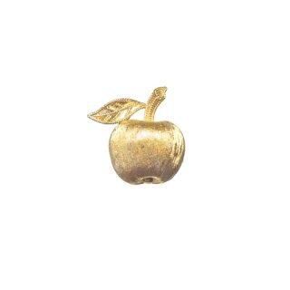 トリファリ・プティサイズの金色林檎のブローチ
