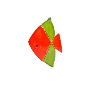 オリジナルバイロバート・レトロな熱帯魚のブローチ