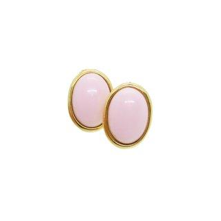 トリファリ・優しいピンクのフェミニンなイヤリング