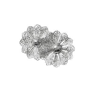 サラコヴェントリー・レース風お花のとても大きなイヤリング