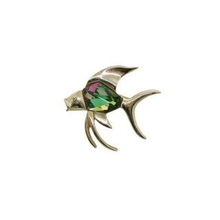 サラコヴェントリー・トロピカルな魚のブローチ