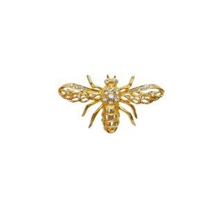 ケネスジェイレーン・金色の蜂のブローチ