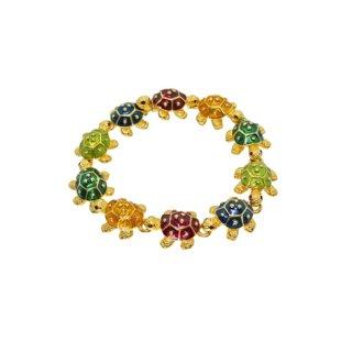 ケネスジェイレーン・5色の小さな可愛い亀のブレスレット