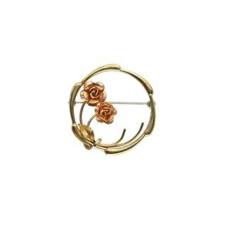 クレメンツ・2輪の小さな薔薇のブローチ