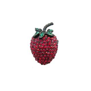 ワイス・可愛い苺のブローチ