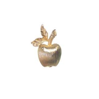 エイボン・小さな金色の林檎のブローチ