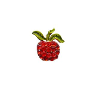 マムゼル・オレンジ色の果実のプティサイズブローチ