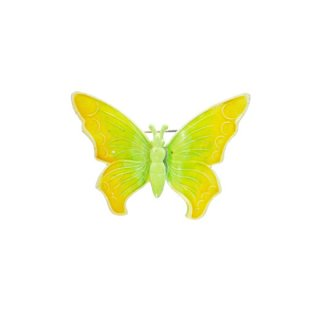 ウエストジャーマニー・綺麗な黄色い蝶のブローチ