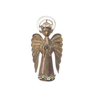 アート・ラブリーな天使のクリスマスブローチ