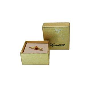 クレメンツ・オリジナルボックス付き小さな薔薇のピンバッチ