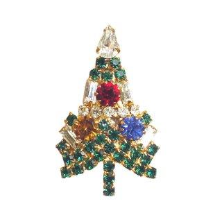 アイゼンバーグ・小さなクリスマスツリーブローチ