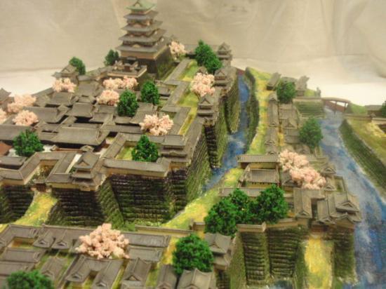 日本100名城 徳川期大阪城 復元城郭 お城 模型 ジオラマ完成品 600mmサイズ