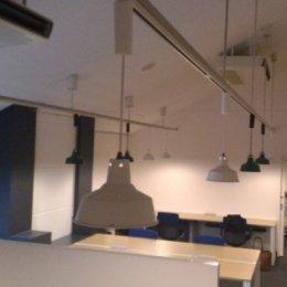 研究室カフェ風改装