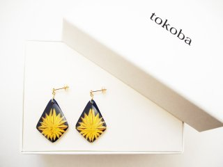 tokoba ピラミッド・ピアス アンバールリスパーク(K18)