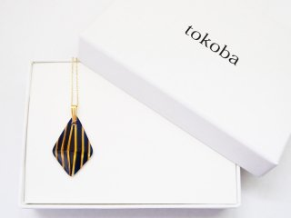 tokoba ピラミッド・ネックレス アンバールリストライプ